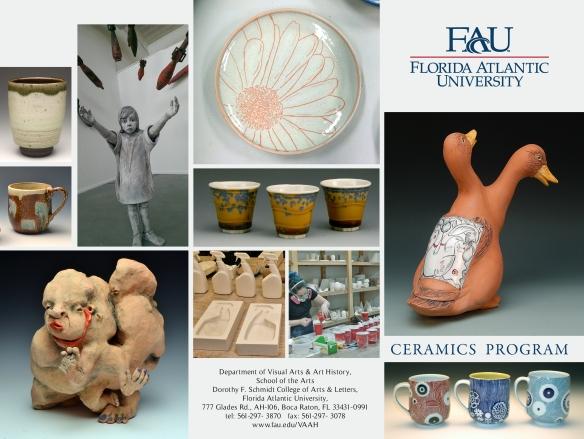 FAU 2015 Ceramic brochure outside